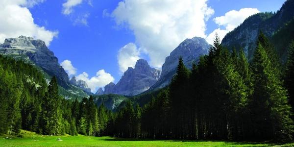 Il Crozzon dalla Val Brenta