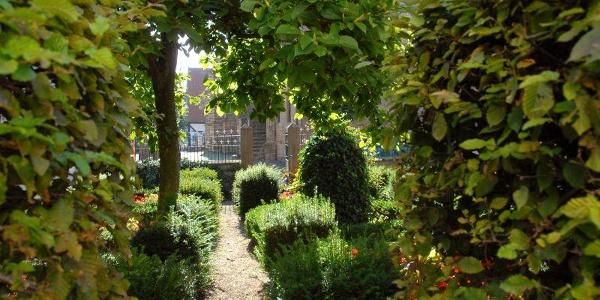 Garten am Heimathaus in Bevergern