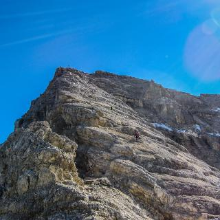 Aufstieg Birkkarspitze