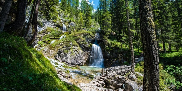 Vallesinella high waterfalls