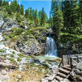 Cascate e ponticelli di Vallesinella alta