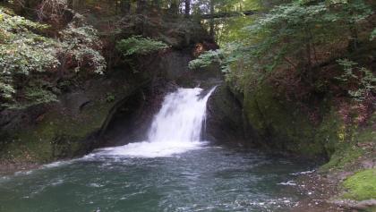 Wasserfall am Engpass