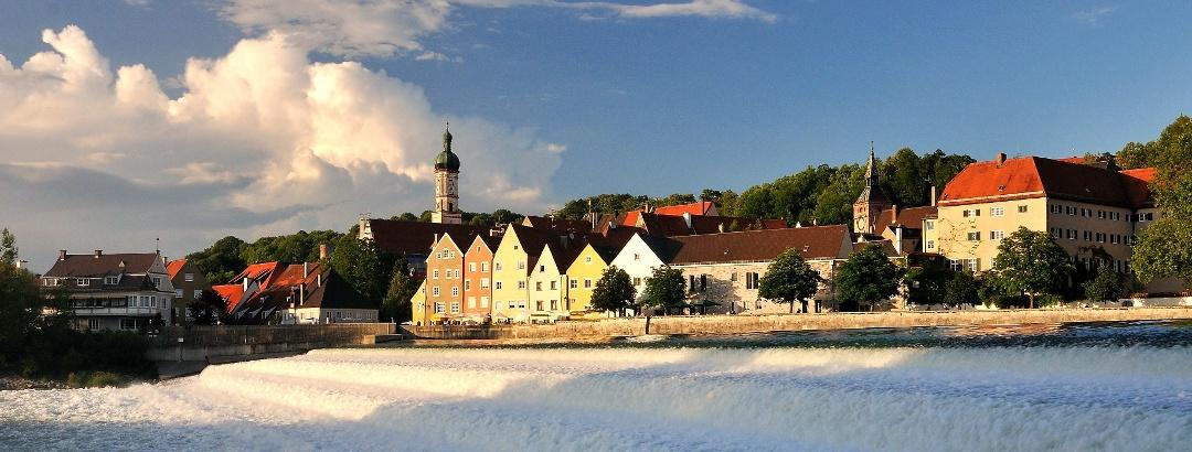Lechwehr in Landsberg