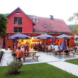 Biergarten der Waldsee-Terrasse