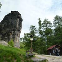 Eingang Tyssaer Steine