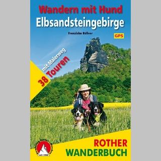 Wandern mit Hund Elbsandsteingebirge