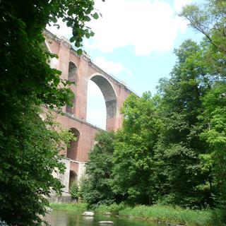 Elstertalbrücke - Eisenbahnviadukt Pöhl