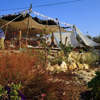Im Garten der Camplodge