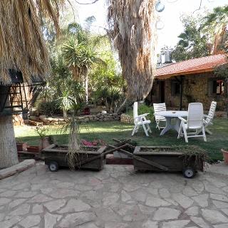 Der Garten des Jericho Inn