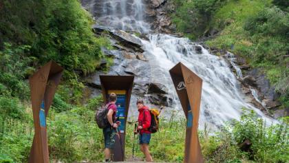 Alpe-Adria-Trail Infopoint am Fragant Wildbach