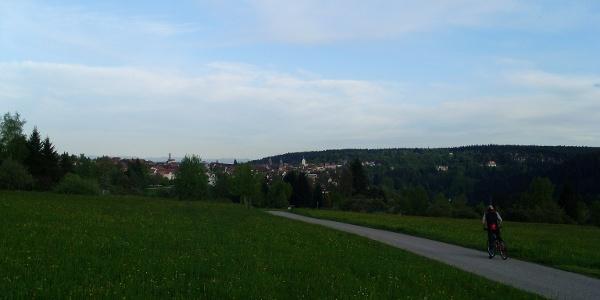 Blick vom Heideweg Richtung Freudenstadt