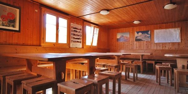 Essraum Carschinahütte