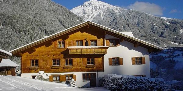 Haus Mühle Hinterseite