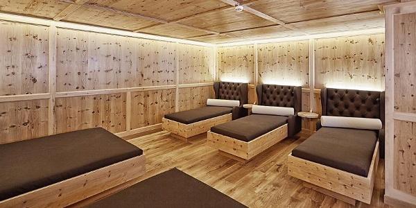 Gold Spa Ruheraum 11 Sporthotel Silvretta Montafon