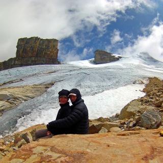 End- bzw. Umkehrpunkt auf 4800 m.