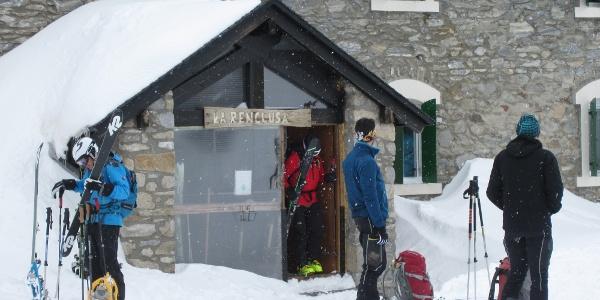 Aufbruch vom Refugio de la Renclusa