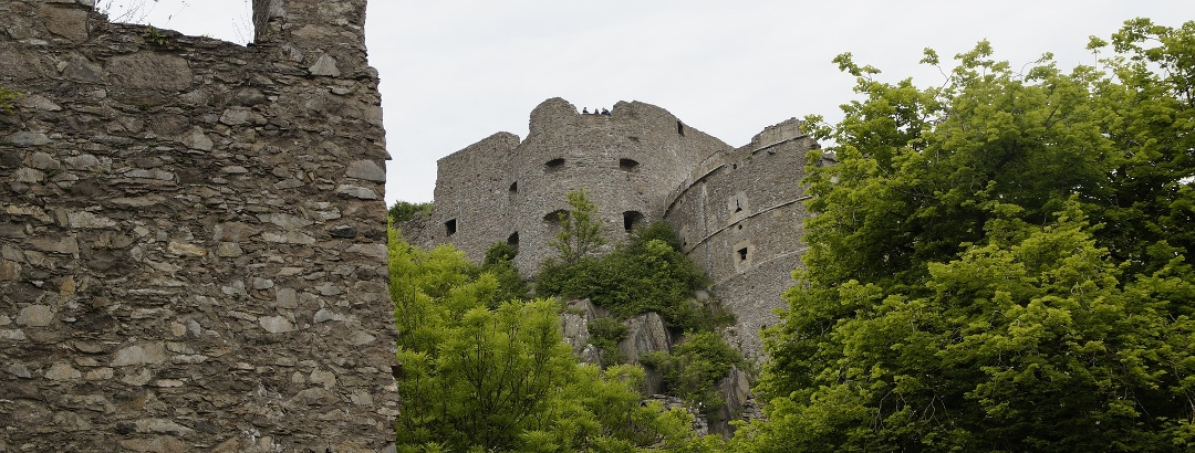Die Festungsruine auf dem Hausberg Hohentwiel
