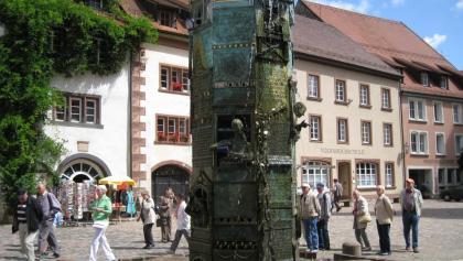 Der Münsterbrunnen in Villingen-Schwenningen