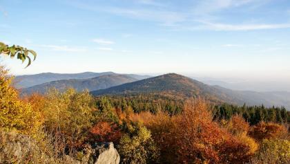 Aussicht vom Hirschenstein zum Klausenstein