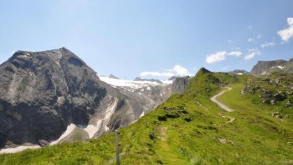 Schritt für Schritt kommen Kitzsteinhorn und damit die Krefelder Hütte näher
