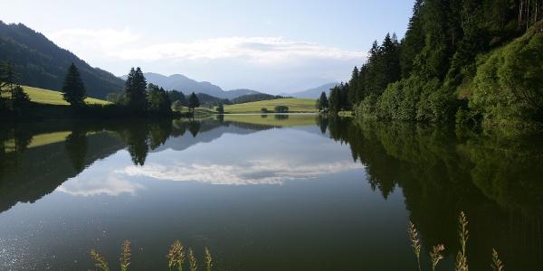 Unzählige Seen und Teiche sind im Naturpark beheimatet