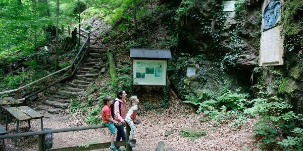Im Natura 2000 Europa Schutzgebiet Deutschlandsberger Klause