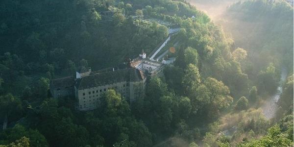 Blick auf Schloss Herberstein