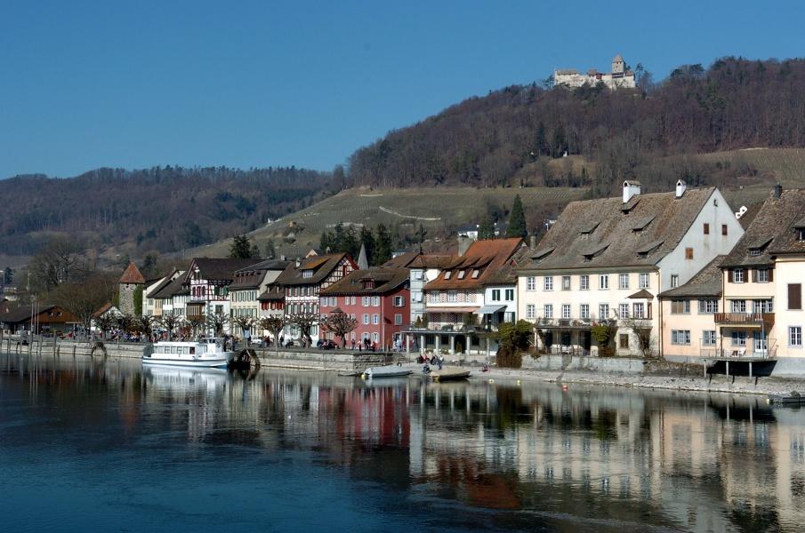 Stein am Rhein - Wolkenstein - Burg Hohenklingen