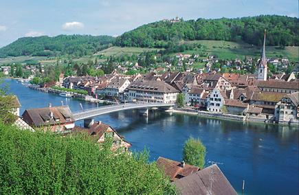 Stein am Rhein von oben