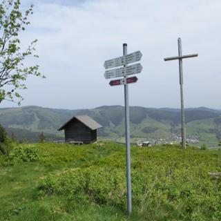 Gipfelkreuz am Blößling
