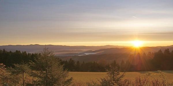 Sonnenaufgang in Hinterwies