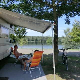 Camping bei Pahna
