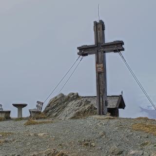 Gipfelkreuz auf dem Hundstein