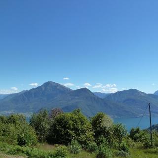 Ausblick auf den Comer See