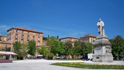 Piazza Cavour in Ancona