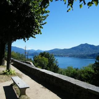 Blick auf den Lago Maggiore