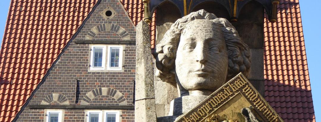 "The ""Roland"" - symbol of Bremen City"