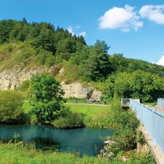 Diemelbrücke Ostheim vor der