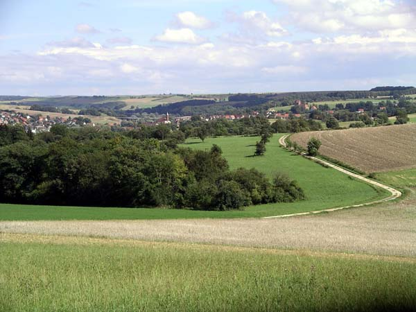 Landschaft bei Hornbach