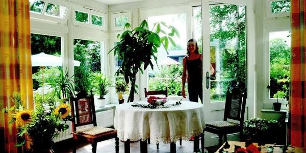 Wintergarten im Hotel Landhaus Blankenstein