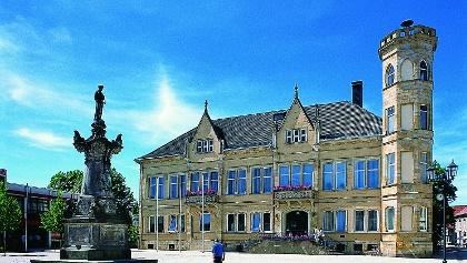 Rathaus Vorderansicht