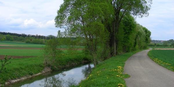 Uferweg an der Egau.