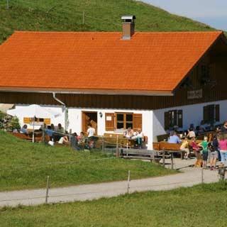Hündle Alpe - bewirtschaftet