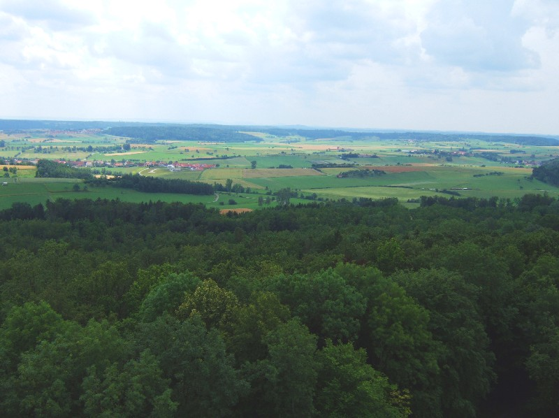 Blick ins Ländle vom Burgbergturm  - @ Autor: Heinz Obinger  - © Quelle: Hohenlohe + Schwäbisch Hall Tourismus e.V.
