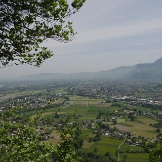 Aussicht auf das Rheintal