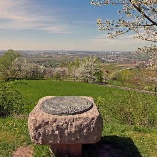 Am Aussichtspunkt Hirschkopf