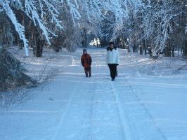 Winterwandern: Auf der Pastorenwiese bei Wunderthausen