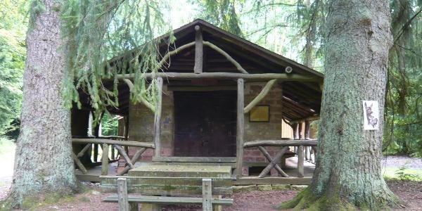 Wanderhütte am Steinernen Tisch