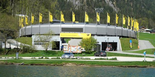 Zielstadion der Königsee-Bobbahn