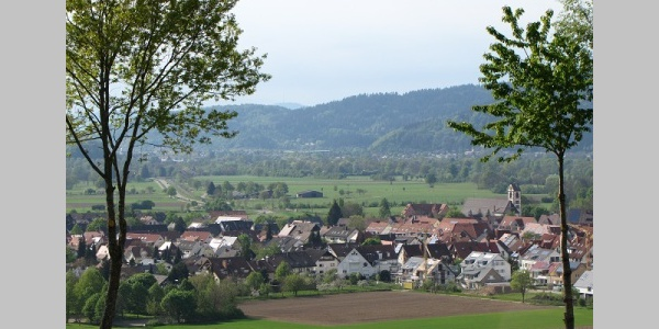 Kirchzarten vom Giersberg aus